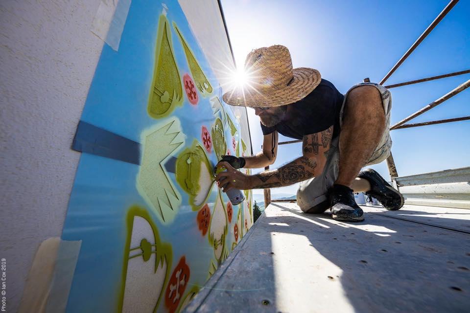 Civitcampomarano street art festival