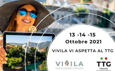 Torna TTG Travel Experience dal 13 al 15 ottobre a Rimini. Saremo presenti anche noi di Vivila.